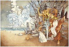Yamada Akihiro The Twelve Kingdoms, Manga Artist, Light Novel, Asian Style, Old Things, Japanese, Illustration, Painting, Image