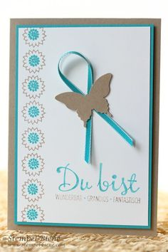 #Stampin' Up Bordering Blooms