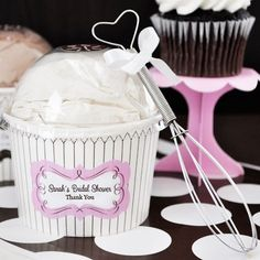 Personalized Wedding Cupcake Mix by Beau-coup