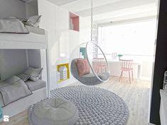 Child's room Modern style - image of Karolina Czapla Room Design Bedroom, Bedroom Loft, Girls Bedroom, Bedrooms, My New Room, My Room, Bunk Rooms, Cute Bedroom Ideas, Beauty Room