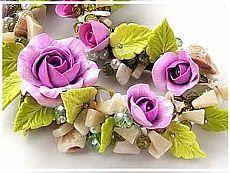 Лепка роз из термопластики для использования в бижутерии - Ярмарка Мастеров - ручная работа, handmade