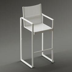 Royal Botania bar chair  #models #3dmodeling #modeling #turbosquid #3dartist #viktor_log #design #interior