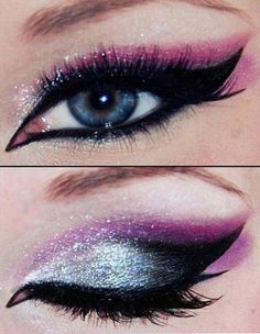 I need to figure out how to do this makeup technique. So pretty. So versatile.