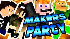 Minecraft - Makers Party [TÁRSASOZZUNK!] Minecraft, Party, Parties