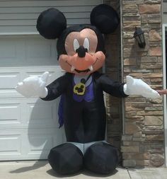 gemmy 6 ft inflatable airblown mike and sulley disney halloween decoration 10900 2013 halloween pinterest disney halloween decorations