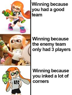 it ain't much but it's honest work Splatoon Squid, Splatoon Memes, Splatoon 2 Art, Splatoon Comics, Nerd, Gamer Humor, Funny Games, Laughing So Hard, Best Games
