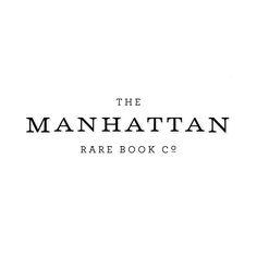 The Manhattan Rare Book Co. // Flawless execution.