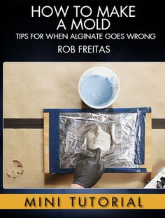 Learn alginate mold making tips with master mold maker Rob Freitas (The Hobbit, Transformers, Men in Black). Vintage Window Treatments, Ral Partha, Paper Mache Clay, Plaster Molds, Silicone Dolls, Diy Molding, Sculpture Clay, Air Dry Clay, Mold Making