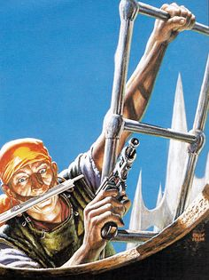 pirates-of-ersatz  by leiber. with a slide rule in his teeth ;)
