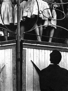Streets of Barcelona, 1958. Photo by Joan Colom.