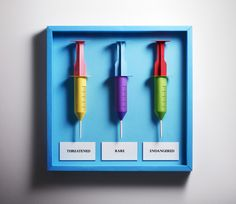 Syringe Paper Art