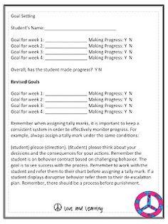 A Not So Wimpy Teacher's Behavior Management Manual: I-Messages, Behavior Plans, Progress Monitoring....Oh My!!!