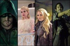 Personagens que não tiveram sorte em 2015. #Arrow #OUAT #TWD #ScreamQueens