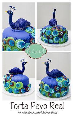 #peacock #cake #pavoreal