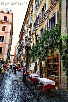 Wandering the streets of Rome, Italy