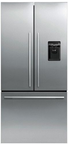 I like the square handles & that freezer is in drawers down the bottom & that it has ice & water dispenser. Fisher & Paykel 519 Litre French Door Fridge Freezer $3999.00 from Noel Leeming