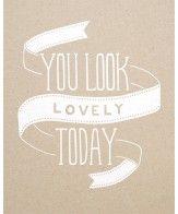 You always do
