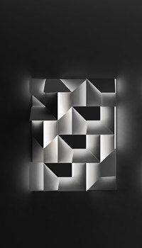 WALL SHADOW - Design: Carles Kalakian * LED bulbs placed inside the various elements, creating a canvas of shadows.