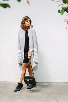 Waterfall Knit Cardi Outfit Idea