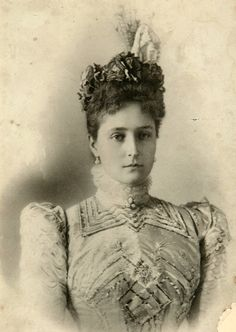 Alexandra Feodorovna (1872-1918) Empress Consort of Russia.