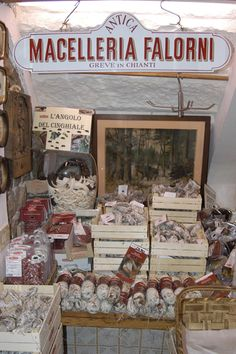 Italia Tour Italy  Serafini Amelia  Antica Macelleria Falorni, Greve in Chianti. A historic butcher shop...AMAZING!
