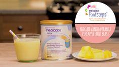 Vanilla Orange Pineapple Fruit Blast Smoothie - Neocate Recipe. Easy smoothie recipe the whole family can enjoy!