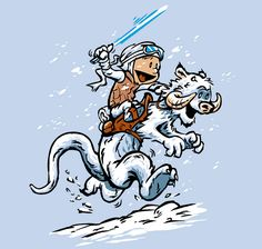 star wars calvin and hobbes - Google Search