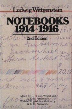Wittgenstein's Notebooks & Sketchbook from 1914-1916.