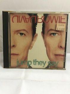 Savage Records David Bowie Jump They Say SADJ-50036-2 Promo CD