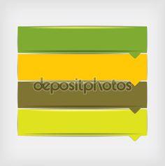 Modello di design moderno, può essere utilizzato per l'infografica - Illustrazione vettoriale: 58176993
