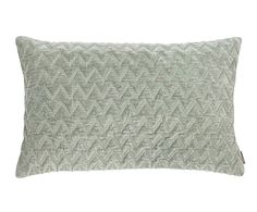 """Poduszka dekoracyjna """"Zigzag Green"""", 30 x 50 cm"""