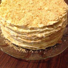 """Добрый день! Хочу показать пошаговый рецепт торта """"Наполеон"""". Когда-то торт по такому рецепту я попробовала в гостях, и с тех пор он остался для меня эталоном…"""
