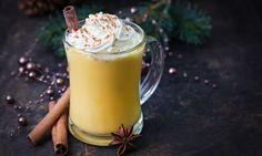 Egg free eggnog made with Avocado and almond milk. Elizabeth Falkner, Eggnog Rezept, Healthy Smoothie, Smoothies, Healthy Food, Food Safety Tips, Food Tips, Food Ideas, Christmas Cocktails
