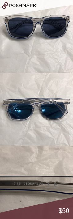 0db995762f6 DSQUARED2 women s sunglasses DQ0174 blue lenses Gently used. No scratches  at all. Excellent condition