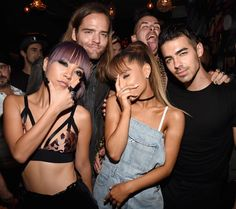 DNCE & Ariana Grande I feel like they would make a great song together