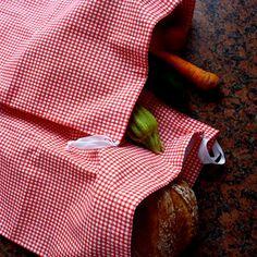 Kostičky-plátěné stahovací pytlíky-sáčky-sada 5ks Zero Waste, Sad