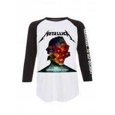 Metallica T Shirt Hardwired to self destruct Mens Baseball Shirt - Paradiso Clothing Hardwired To Self Destruct, Metallica T Shirt, Metal Shirts, Baseball Shirts, Shirt Outfit, Graphic Sweatshirt, Boutique