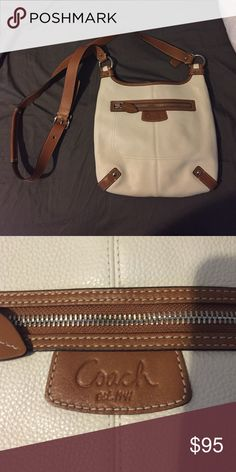Large Coach Crossbody Large Coach cross-body bag. Never worn. Excellent condition. Coach Bags Crossbody Bags