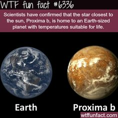 Proxima b - WTF fun facts - http://didyouknow.abafu.net/facts/proxima-b-wtf-fun-facts