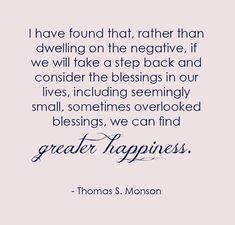 What can you do today to step back and (instead of dwelling on what's wrong) count your many blessings, no matter how small, naming them one by one? ... From #PresMonson's http://pinterest.com/pin/24066179228814793 inspiring #LDSconf http://facebook.com/223271487682878 message http://lds.org/general-conference/2012/10/consider-the-blessings #LivingProphet; #Optimism; #Gratitude;  #ShareGoodness