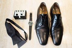 Groom's Shoes & Accessories | Photography: Perez Photography.