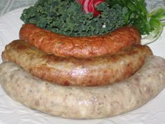 Polish sausage, or kielbasa, is a garlic-flavored pork sausage that can be boiled, boiled and browned or smoked. Here& how to make it from scratch. Homemade Sausage Recipes, Pork Recipes, Dog Food Recipes, Cooking Recipes, Sauce Pour Porc, Home Made Sausage, Kielbasa Sausage, Eckrich Sausage, How To Make Sausage