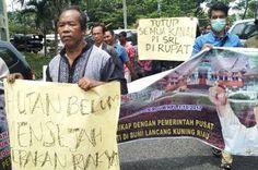 Ratusan Warga Rupat Nyatakan Dukungan Terhadap PermenLHK