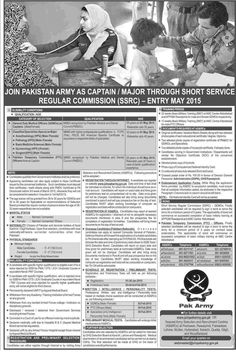 Latest Short Service Commission Jobs in Pak Army Captain,Major Required in Pakistan Army SSRC Regular Commission,Last Date Of Registration 30 January 2015,Apply Now http://shugalmela.net/all-jobs/latest-short-service-commission-jobs-in-pak-army-captainmajor-required-in-pakistan-army-ssrc-regular-commissionlast-date-of-registration-30-january-2015apply-now/