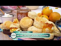 Scons con mermelada de naranja y rellenos salados - Recetas – Cocineros Argentinos