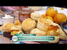 Scons con mermelada de naranja y rellenos salados - YouTube