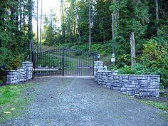 Automatic Driveway Gate Photo Gallery - Photos of Customer's Gates