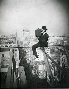 "© Underwood & Underwood, 1905, Above Fifth Avenue, Looking North ---  This picture will be part of the upcoming exhibition ""Picturing New York: Photographs from The Museum of Modern Art"", on view at the Art Gallery of Western Australia - opening on Australia Day, January 26, 2013. #exhibition #usa #1900s #underwood"