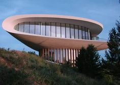 "Spaceship ""Sleeper"" house outside Denver, CO."