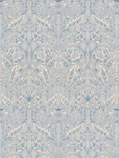 Morris and Co's Savernake is taken from the William Morris wallpaper collection and is in stock and available for purchase.